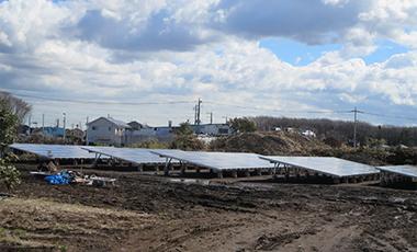 ニッシンテクノシステム第二太陽光発電所