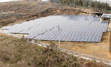 湯津上第一太陽光発電所様